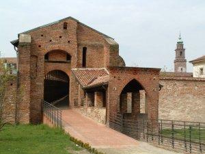 Vigevano Strada coperta Castello Sforzesco