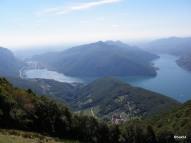I due rami del lago di Lugano
