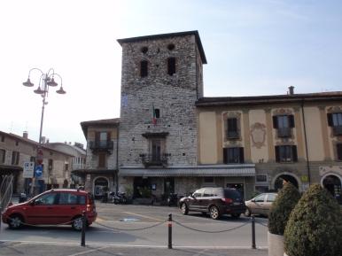 Trescore Balneario la piazza