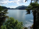 Panorama dal Santuario lago di Lugano