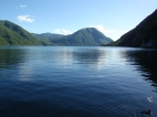 Sguardo verso il basso lago