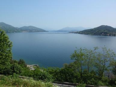 Vista sull'alto lago