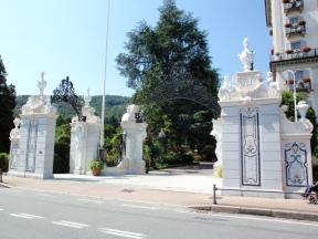 L'entrata del Grand Hotel