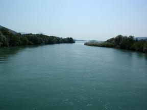 Il Toce entra nel Lago Maggiore