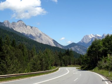 Strada verso Mittenwald