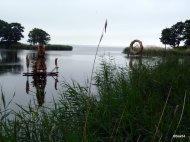 Neringa sculture di canne