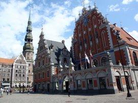 Riga Le case delle teste Nere