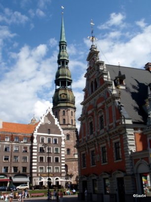 Riga chiesa di san Pietro
