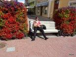 Parnu riposo tra i fiori