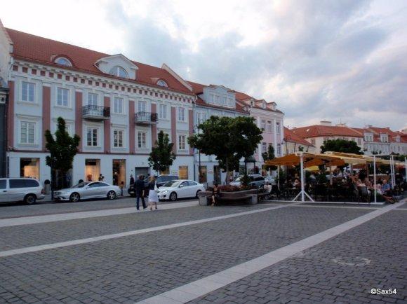 Vilnius Piazza Municipio