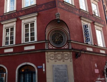 Il più vecchio orologio di Varsavia