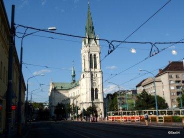 Bratislava Chiesa Blumental