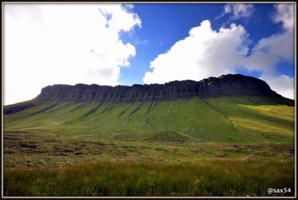 La montagna incantata di BENBULBEN