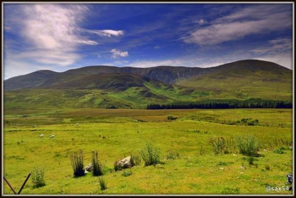 Una delle tante valli dove si estrae la Torba