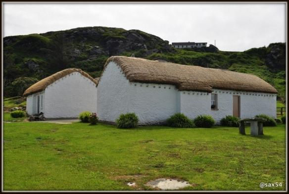 Le vecchie abitazioni del Donegal a Folk Village