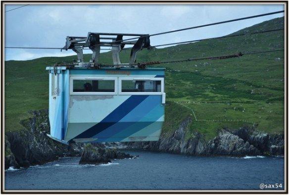 L'Isola di Dursey raggiungibile solo con questa funivia unica in Irlanda